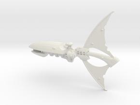 Crucero clase Espectral in White Natural Versatile Plastic