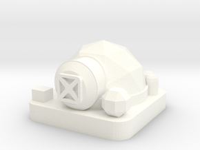 Mini Space Program, Habitat Dome in White Processed Versatile Plastic