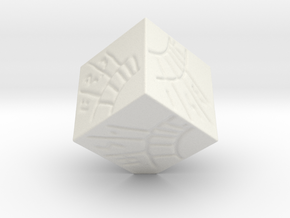 DataCube - WildStar - 30mm in White Natural Versatile Plastic