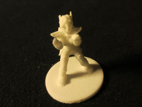 1:36 Helja, Dwarven Dracomancer in White Natural Versatile Plastic
