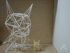 Evil Origami - 12inch - Wired in White Strong & Flexible