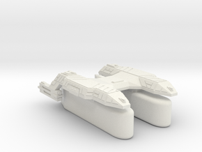 3125 Scale Lyran Puma Transport Tug (K-Pods) CVN in White Natural Versatile Plastic