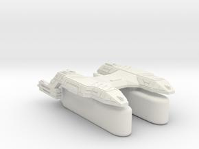 3125 Scale Lyran Puma Transport Tug (K-Pods) CVN in White Natural Versatile Plastic