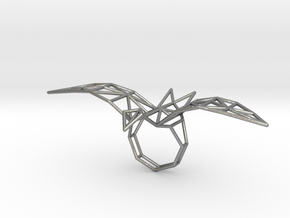 origami eagle ring in Raw Silver: 5.5 / 50.25