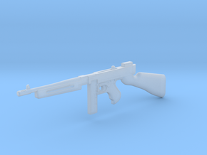 Thompson M1928 20rds (1:18 Scale) in Smooth Fine Detail Plastic: 1:18