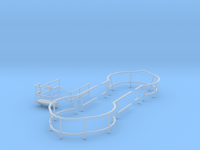 1/72 US Gato Conning Tower Railing in Smooth Fine Detail Plastic