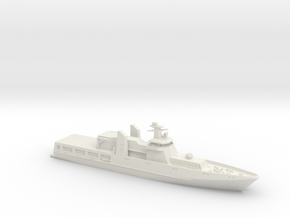 Lürssen PV-85 OPV in White Natural Versatile Plastic: 1:700