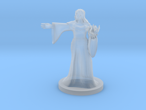Half Orc  Female Warlock in Smooth Fine Detail Plastic