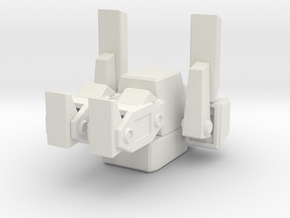 Total Annihilation Arm Peewee in White Premium Versatile Plastic