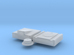 1/25 Fuel Cell RJS-5g-13-13-8-Sump in Smooth Fine Detail Plastic
