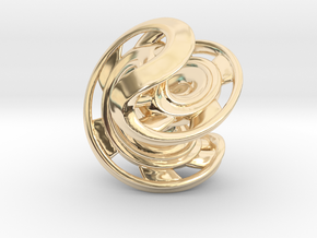 Ring X2 in 14K Yellow Gold: Small