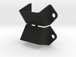 "2 Supports de cales ""M3"" - 2 Wheels chocks holders in Black Natural Versatile Plastic"