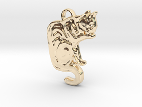 Hermoine Grooms (with ring) in 14K Yellow Gold