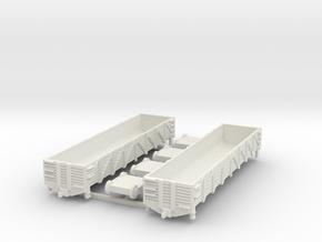 40 ft. Composite Gondola Wagon 1/200 in White Natural Versatile Plastic