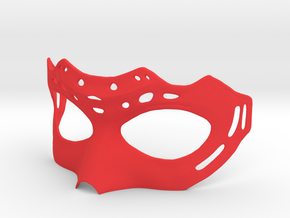 Mask in Red Strong & Flexible Polished: Extra Small
