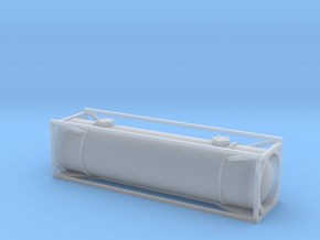 N Gauge Generic 30Ft Tank Container in Smooth Fine Detail Plastic