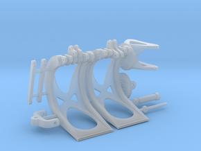 Holzgreifer für Herpa-Bagger in Smooth Fine Detail Plastic