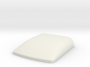 1:20th_Scale_Roof_Mold in White Natural Versatile Plastic