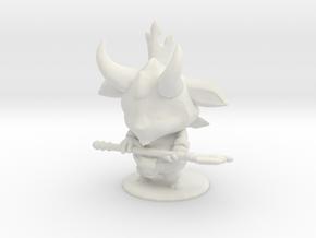 Little Devil Teemo (h) in White Natural Versatile Plastic