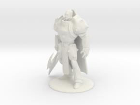 Classic Darius in White Natural Versatile Plastic