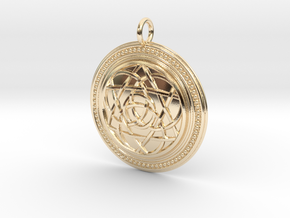 Codex of Ultimate Wisdom (Knotwork Version) in 14K Yellow Gold