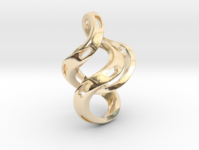 Ring X5 in 14K Yellow Gold: Small