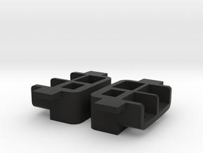 044001-01 Pajero/Montero Rear Lamp Housings in Black Natural Versatile Plastic