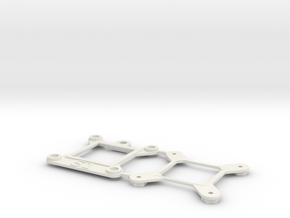 Socket S1 CPU Bauble Single in White Natural Versatile Plastic