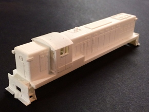 N Scale Baldwin  AS16 in Frosted Ultra Detail