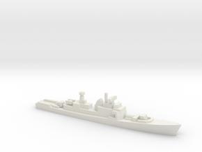 Oslo-class frigate, 1/1800 in White Natural Versatile Plastic