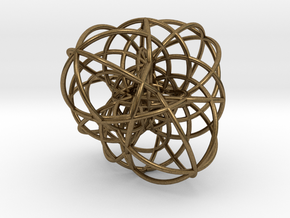 Elliptic Clebsch Cubic in Natural Bronze