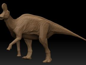 Lambeosaurus m. Climbing Small in White Strong & Flexible