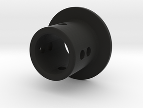 TC Adjustable Body Mount (6mm) in Black Premium Versatile Plastic