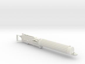 1/8 Scale Vickers Heavy Machine Gun in White Natural Versatile Plastic