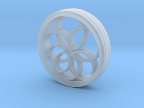 Ring X12 in Smooth Fine Detail Plastic: Small