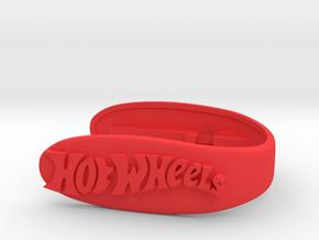 HOTWHEELS key fob  in Red Processed Versatile Plastic