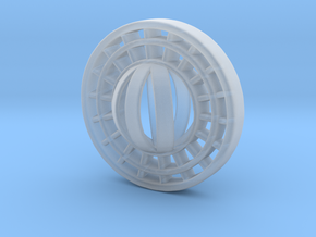 Ring X15 in Smooth Fine Detail Plastic: Small