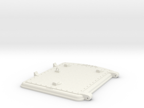 US&S box door bottom in White Natural Versatile Plastic