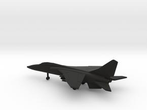 Xian JH-7 Flounder in Black Natural Versatile Plastic: 6mm