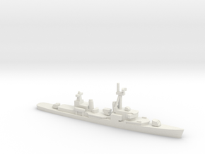 Gearing-class destroyer (FRAM 1), 1/2400 in White Natural Versatile Plastic