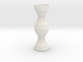 Vase 1216f in White Natural Versatile Plastic
