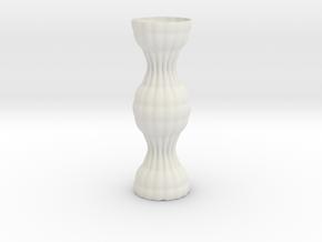 Vase 1216f in White Natural Versatile Plastic