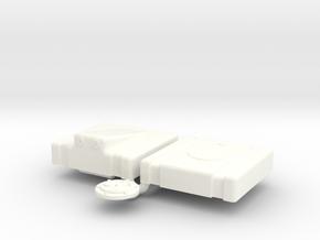 1/16 Fuel Cell Jaz 5gal 13 13 8 Sump in White Processed Versatile Plastic