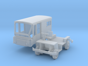 HO-Scale Jeep FJ-3 Postal Delivery FleetVan in Smooth Fine Detail Plastic