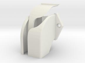 RockyChute in White Premium Versatile Plastic