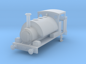 OO Avonside Full Cab 0-4-0ST (Alt. Version) in Smooth Fine Detail Plastic