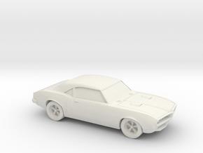 1/87 1967-68 Pontiac Firebird  in White Natural Versatile Plastic