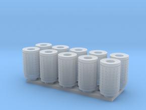 DSB 80L Affaldsbeholder (10stk) 1:160 in Smooth Fine Detail Plastic
