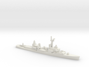 Chao Yang class destroyer, 1/2400 in White Natural Versatile Plastic