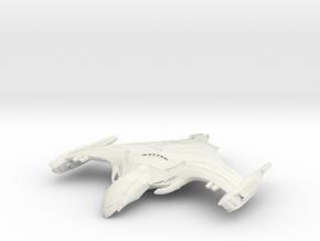 Romulan WarHawk Class  HvyCruiser in White Natural Versatile Plastic